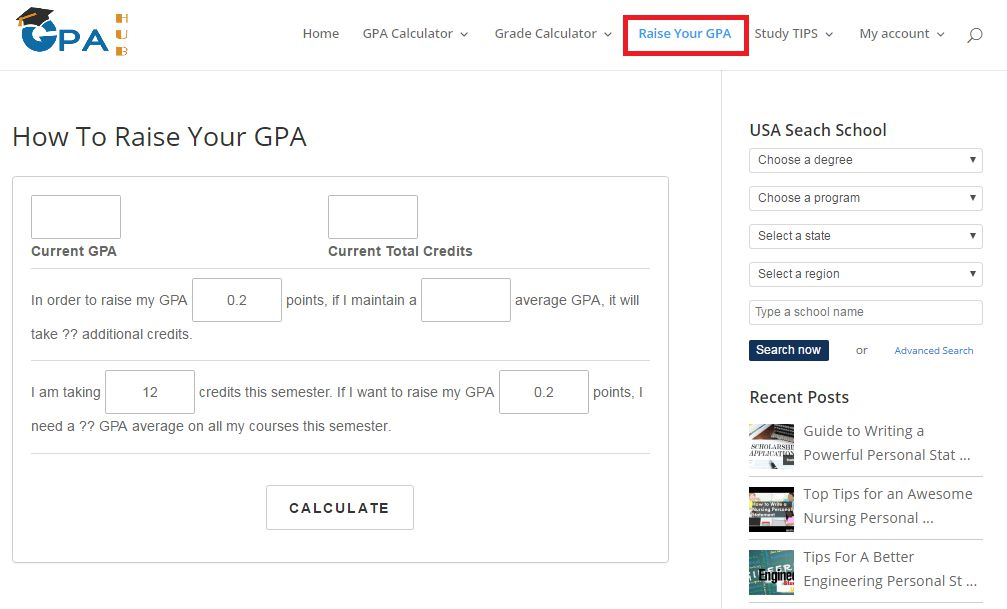 How to raise your gpa learn how to improve gpa gpahub how to raise your gpa ccuart Choice Image
