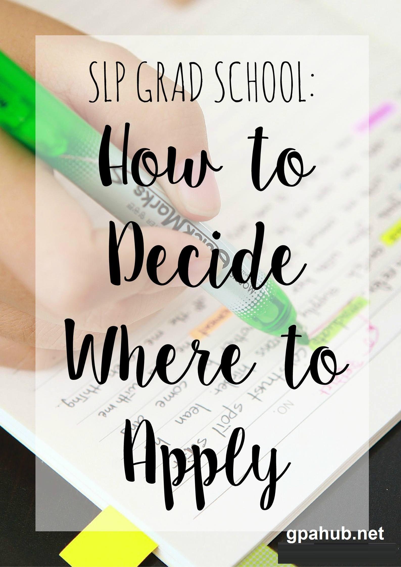 How many graduate schools should I apply to